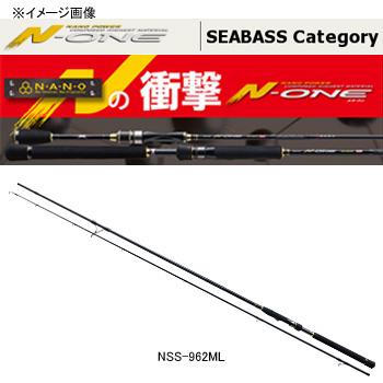メジャークラフト N-ONE(エヌワン) シーバス NSS-962M
