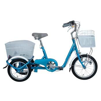 ミムゴ SWING CHARLIE ロータイプ三輪自転車【代引不可】 前16/後14インチ ブルー MG-TRE16SW-BL