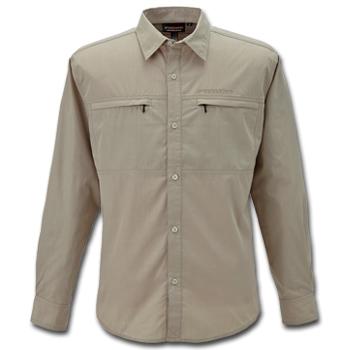 フリーノット(FREE KNOT) BOWBUWN(ボウブン) ライトフィールドシャツ 3L 20(ベージュ) Y1431