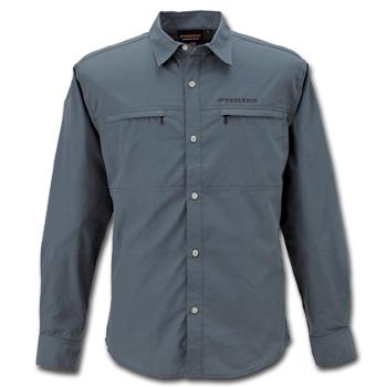 フリーノット(FREE KNOT) BOWBUWN(ボウブン) ライトフィールドシャツ M 93(チャコール) Y1431