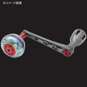 リブレ(LIVRE) POWER(パワー) シマノ18000番~20000番用 左巻き 98mm GMR(ガンメタ×レッド) PW98-SL182-GMR