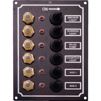 bmojapan(ビーエムオージャパン) LEDスイッチパネル 6連 C91338