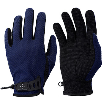 アクシーズクイン(AXESQUIN) M's UV Mesh Glove M ネイビー AG6704