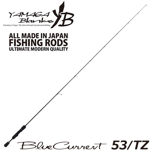 YAMAGA Blanks(ヤマガブランクス) Blue Current(ブルーカレント) 53/TZ