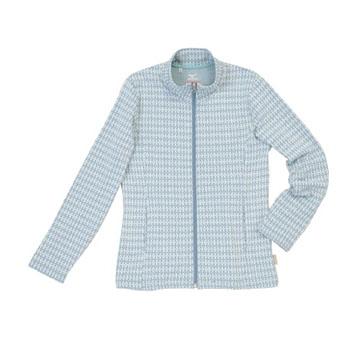 ミズノ(MIZUNO) ブレスサーモ アーガイルシャツ Women's L 32(ブルーグリーン) A58SW02032
