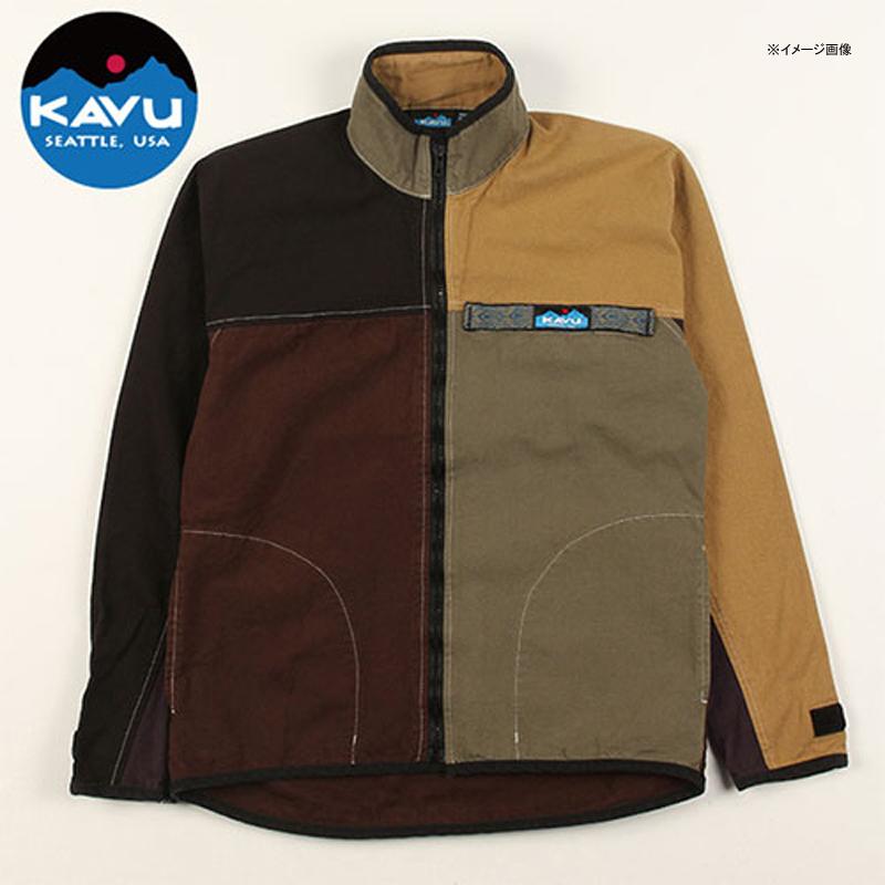 KAVU(カブー) F/Z Throw Shirts(フルジップ スローシャツ) M Ugly(アグリー) 19810052801005