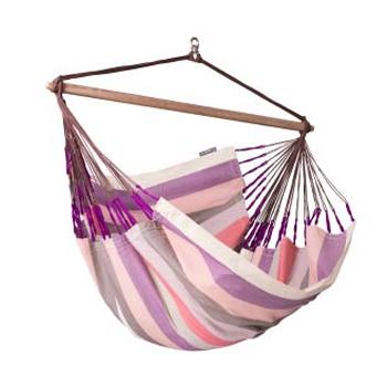 ラ シエスタ(LA SIESTA) チェアハンモック ロウンガー hammock chair lounger plum DOL21-7