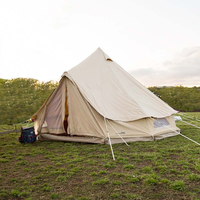 CanvasCamp (canvas camp) SIBLEY 400 ULTIMATE PRO (PROTECH) 400 cm sand beige 400 ProT