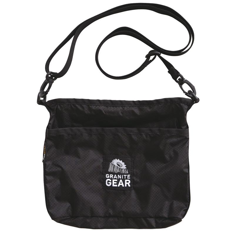 GRANITE GEAR(グラナイトギア) HIKER SATCHEL(ハイカーサチェル) 65g ブラック 2210900101