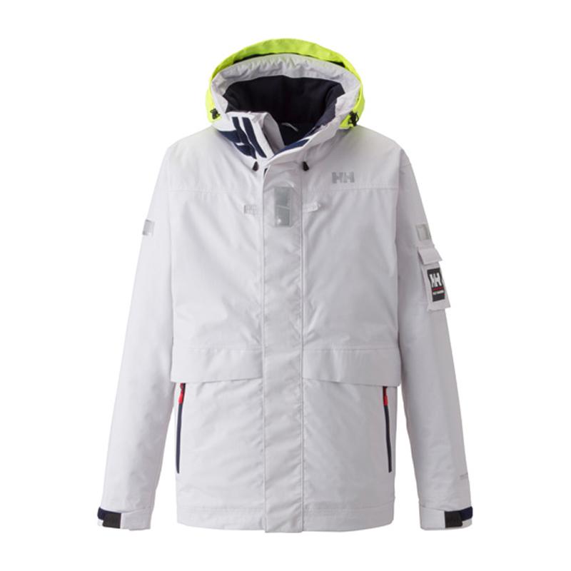【送料無料】HELLY HANSEN(ヘリーハンセン) Ocean Frey Jacket Men's M W(ホワイト) HH11550