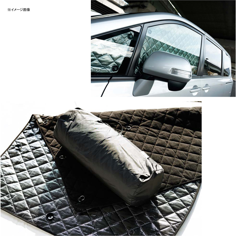 ブラームス(BRAHMS) ブラインドシェード リア(後部)セット トヨタ ランドクルーザー200 雨滴感知式ワイパー付 B1-060-R