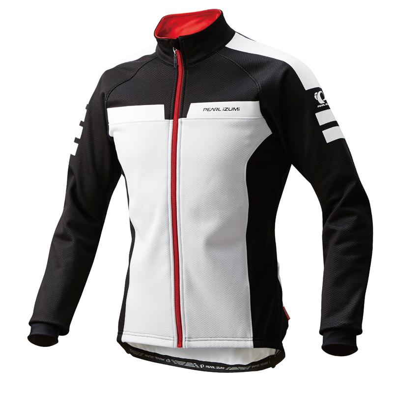 パールイズミ(PEARL iZUMi) ウィンド ブレークジャケット M ホワイト×ブラック 3500-BL