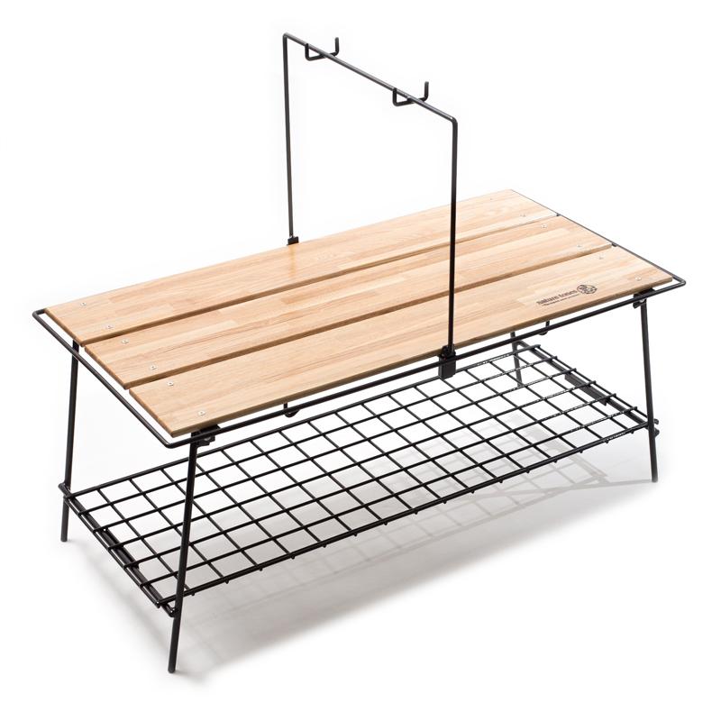 【送料無料】ネイチャートーンズ(NATURE TONES) The folding cafe table ダークブラウン CA-DB