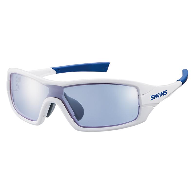 スワンズ(SWANS) STRIX I-0714 ストリックスグラス ミラー PAW シルバーミラー×アイスブルー