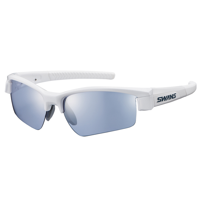スワンズ(SWANS) LI SIN-0714 ライオン シン ミラー PAW シルバーミラー×アイスブルー