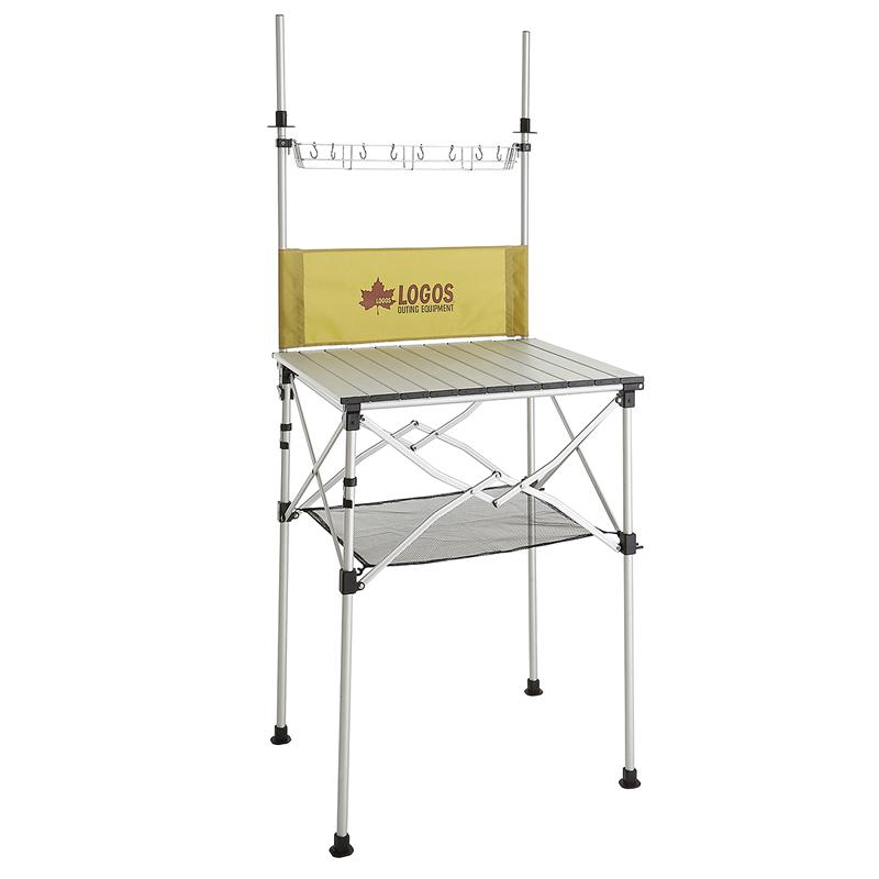 【送料無料】ロゴス(LOGOS) smart LOGOS kitchen クックテーブル(風防付き) 73186510【あす楽対応】【SMTB】