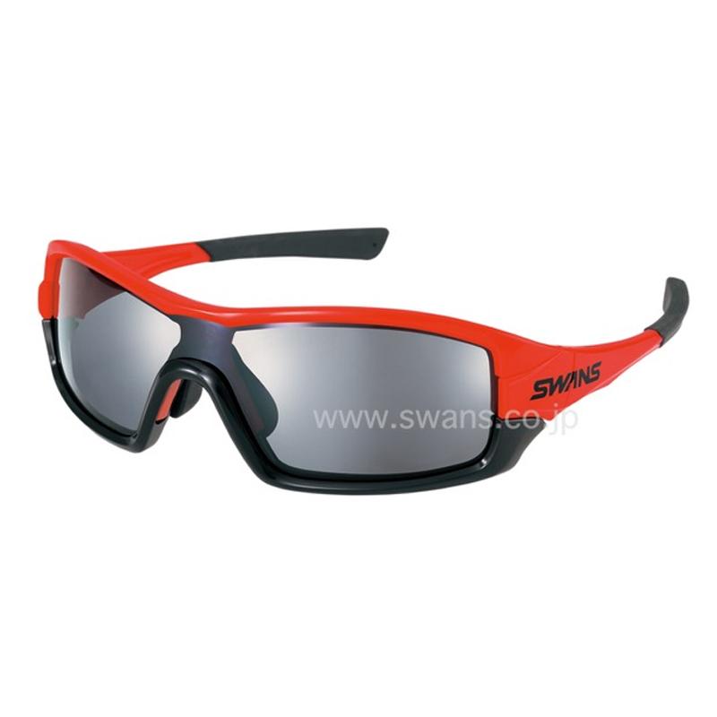 スワンズ(SWANS) STRIX I-0701 ストリックスグラス ミラー OR OR シルバーミラー×スモーク