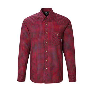 マウンテンイクイップメント(Mountain Equipment) LS Tartan Shirt Men's L レッド 421817【あす楽対応】