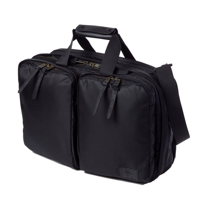 GREGORY(グレゴリー) ASCEND 3-WAY 21L BLACK(ブラック) 732131041