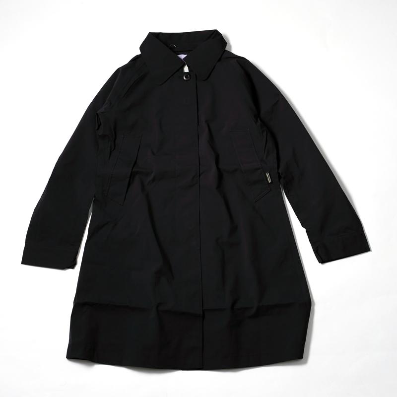 アクシーズクイン(AXESQUIN) Gore-Tex ステンカラーコート(レディース) M ブラック RM2127