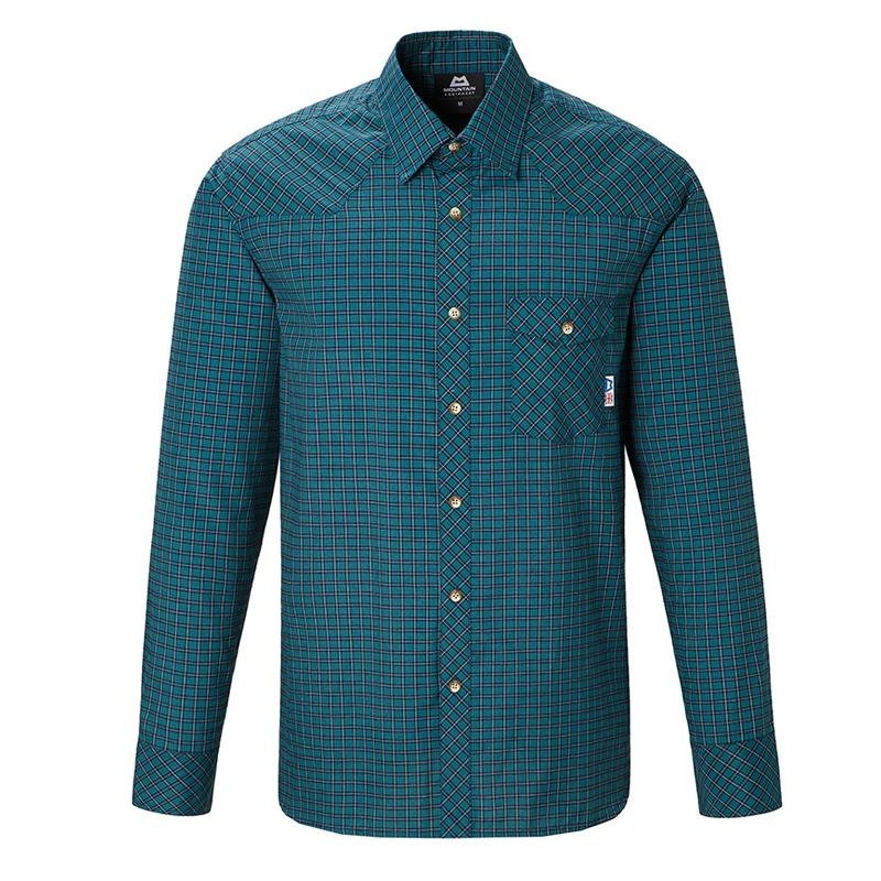 マウンテンイクイップメント(Mountain Equipment) LS Tartan Shirt Men's XS T00(ティール) 421817