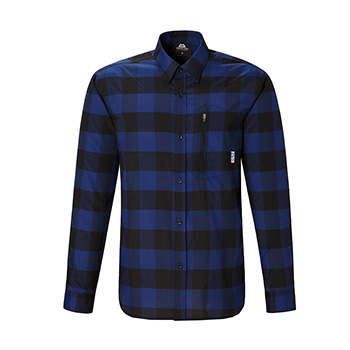 マウンテンイクイップメント(Mountain Equipment) LS Buffalo Check Shirt Men's S ブルー 421824