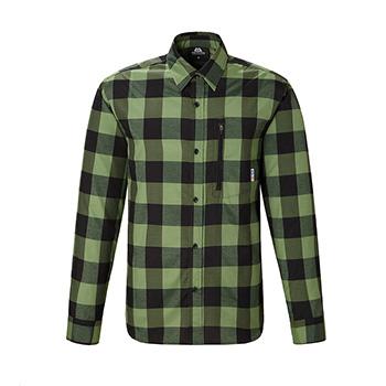 マウンテンイクイップメント(Mountain Equipment) LS Buffalo Check Shirt Men's L カクタス 421824
