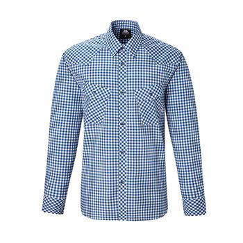 マウンテンイクイップメント(Mountain Equipment) LS Gingham Check Shirt Men's XS ブルー 421826