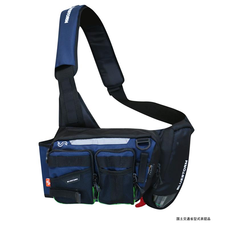 Takashina(高階救命器具) 膨脹式ライフジャケット(水感知機能付き)ライトゲームモデル フリー ネイビー BSJ-7120【あす楽対応】