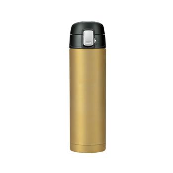ベルモント(Belmont) 銀抗菌ステンレス真空二重ボトル ワンタッチ形 500ml GD BM-475