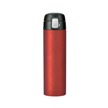 ベルモント(Belmont) 銀抗菌ステンレス真空二重ボトル ワンタッチ形 500ml RD BM-476