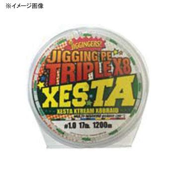 ゼスタ(XeSTA) ジギングPE トリプルX8 1200m 2号/33lb
