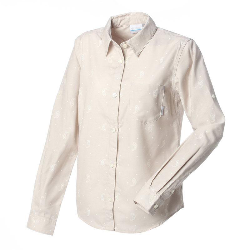Columbia(コロンビア) キャッスルヒルウィメンズシャツ XL 101(PUMICE STONE) PL7972