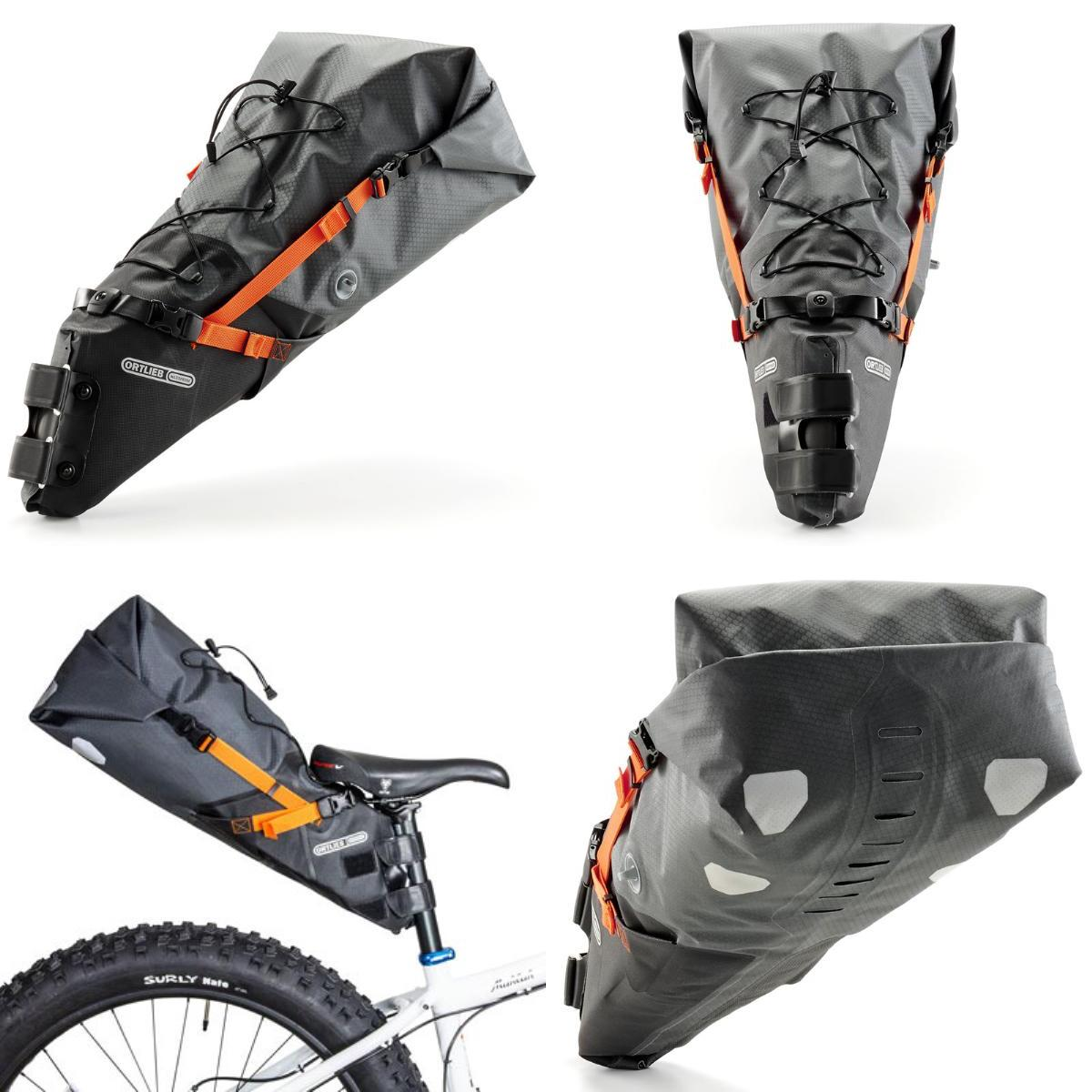 【】ORTLIEB(オルトリーブ) バイクパッキング シートパック L 8-16.5L スレート F9901【SMTB】
