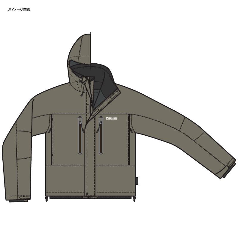 パズデザイン BSトラウティストウォームジャケット M カーキ ZBR-005