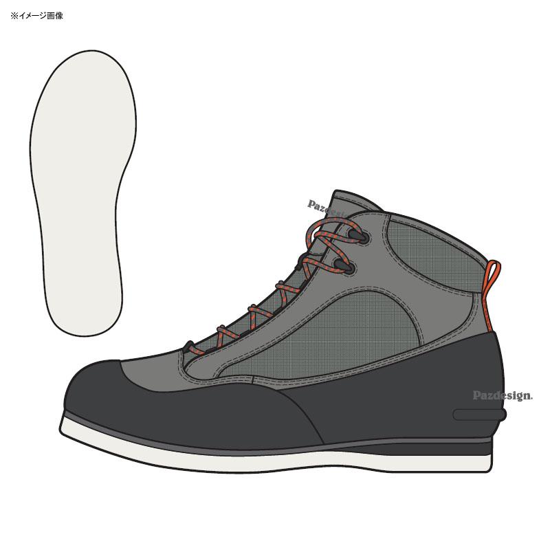 パズデザイン ライトウェイトウェーディングシューズ V S グレー ZWS-613