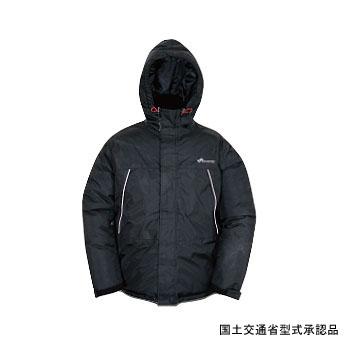 Takashina(高階救命器具) 防寒防水ダウンライフジャケット M ブラック BSJ-DJ01(L3)