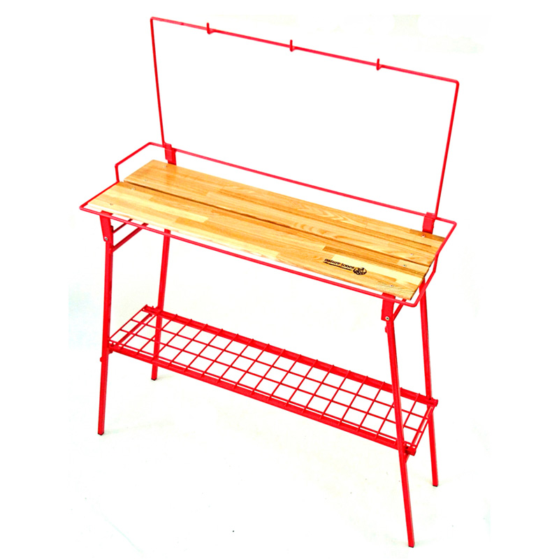 【送料無料】ネイチャートーンズ(NATURE TONES) The Folding Bar Counter Table レッド BT-R【SMTB】