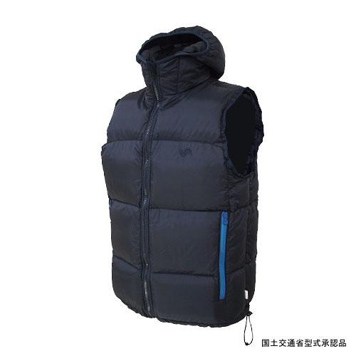 Takashina(高階救命器具) ダウンベストタイプライフジャケット L BLACK BSJ-VT01(L3)
