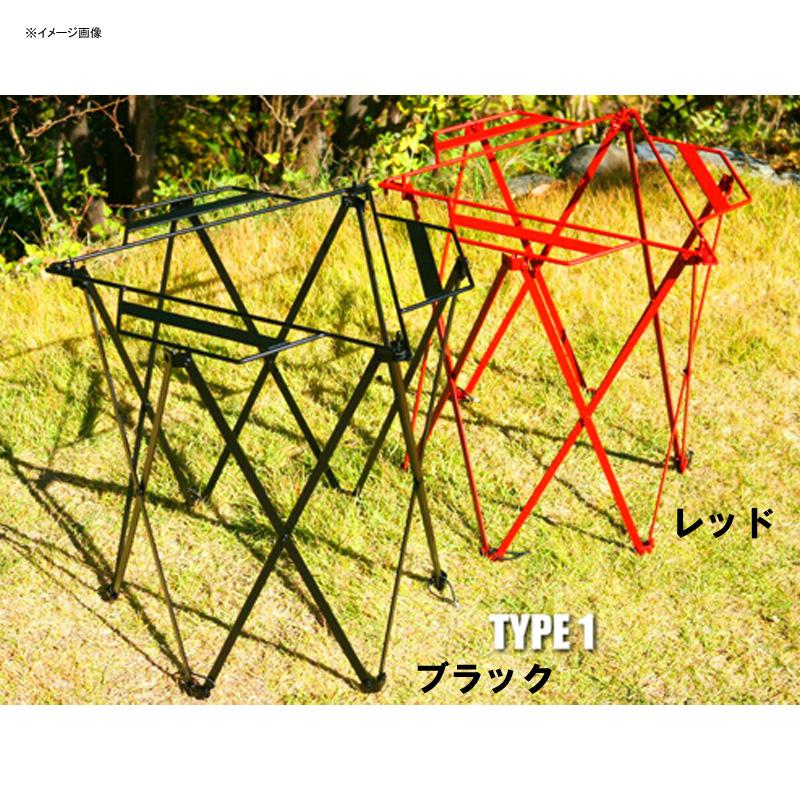 【送料無料】ネイチャートーンズ(NATURE TONES) THE FOLDING STOVE GUARD TYPE1 3.6kg 耐熱レッド SG1-R