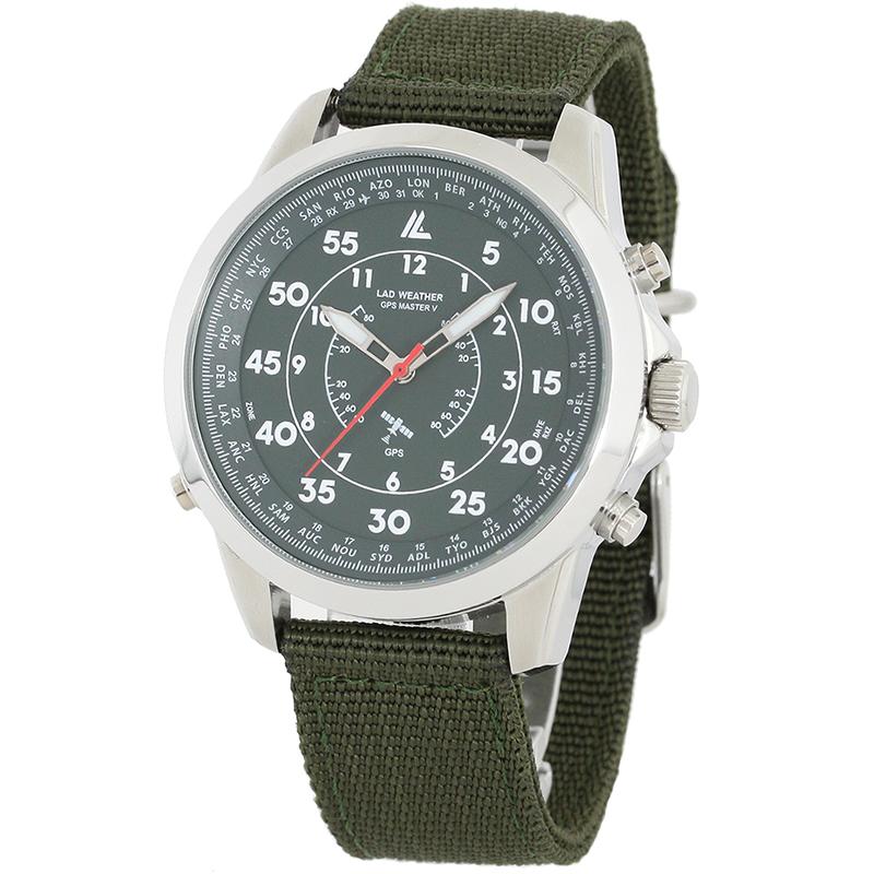 【送料無料】LAD WEATHER(ラドウェザー) GPS MASTER V (GPSマスターV) カーキ lad023kh【SMTB】