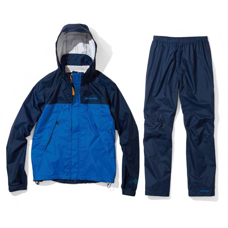 【送料無料】Columbia(コロンビア) Simpson Sanctuary Rainsuit Men's S 425(Columbia Navy) PM0124【SMTB】