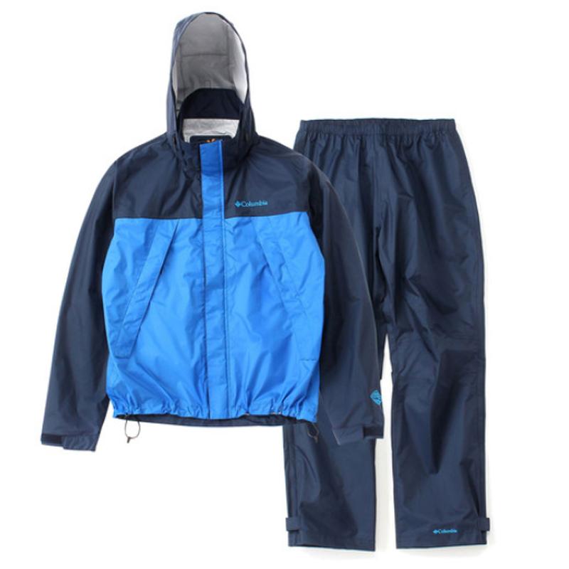 【送料無料】Columbia(コロンビア) Simpson Sanctuary Rainsuit Men's M 425(Columbia Navy) PM0124【あす楽対応】【SMTB】