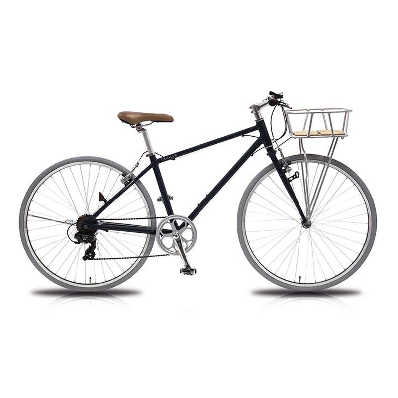 vittoria(ヴィットリア) 700Cアルミクロスバイク 6段変速 Fritz【代引不可】 CB(クリスタルブラック) TR-C7004-CB