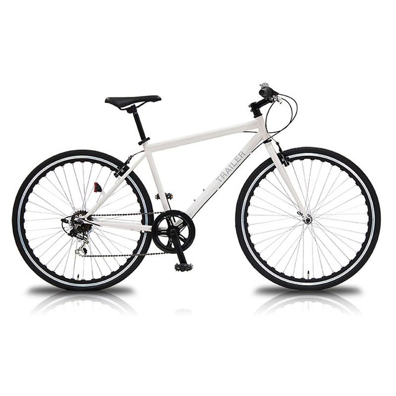 vittoria(ヴィットリア) 700Cクロスバイク 6段変速【代引不可】 WH(ホワイト) TR-C7003-WH