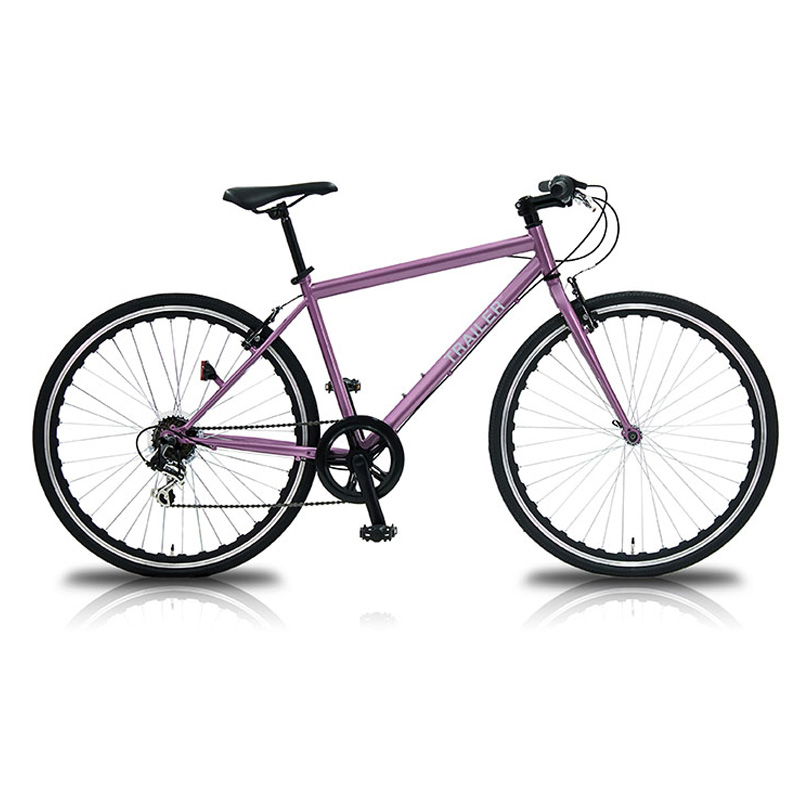 vittoria(ヴィットリア) 700Cクロスバイク 6段変速【代引不可】 PK(ピンク) TR-C7003-PK