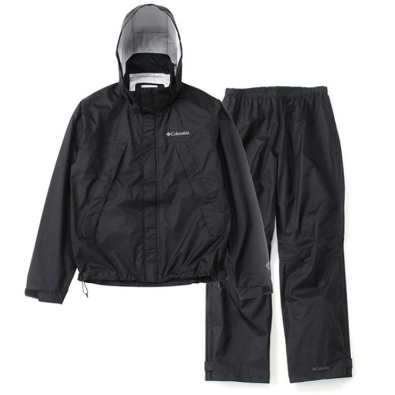 Columbia(コロンビア) Simpson Sanctuary Rainsuit Men's Men's L L 010(Black) PM0124【あす楽対応】, アイコインズ楽天支店:e9ab468e --- officewill.xsrv.jp