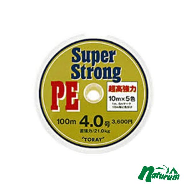 東レモノフィラメント(TORAY) スーパーストロング PE 100m×12 10号