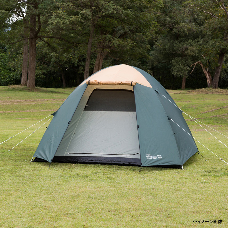 BUNDOK(バンドック) ドーム型テント5 UV グリーン BDK-76