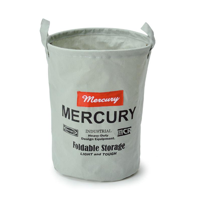 MERCURY(マーキュリー) キャンバスバケツ M グレイ MECABUMG